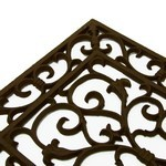 Cast Iron Rectangular Doormat 1004.008.2