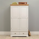 New England Light Grey Double Wardrobe Bedroom Set 1036.035_bhdcq1e8