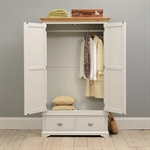 New England Light Grey Double Wardrobe Bedroom Set 1036.035_h8d4mstv