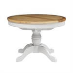 New England Light Grey Round 110-145cm Ext. Table 1036.042_t54o16ep