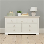 Venice White 3 over 4 Drawer Chest 1041.006_fkymxmpa