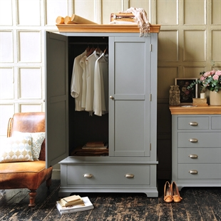 Sandringham Grey Gents Wardrobe