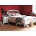 Stratford White 4'6 Double Bed