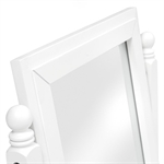 Stratford White Dressing Table Mirror 1045.013_rjtln3oo