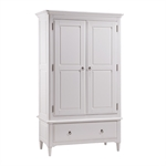 Stratford White Painted Gents Wardrobe Bedroom Set 1045.016_2s8xilg0