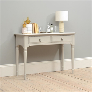Stratford Grey Console Dressing Table