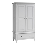 Stratford Grey Painted Gents Wardrobe Bedroom Set 1046.019_bqv7efud