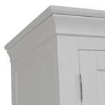 Amberley Grey Painted Triple Wardrobe 1047.002_iied3884