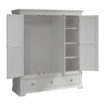 Amberley Grey Painted Triple Wardrobe 1047.002_zwyyyc1f