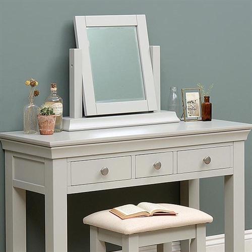 Amberley Grey Painted Dressing Table Mirror