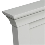 Amberley Grey Painted 5ft King Bed 1047.013_b4jtjj6e