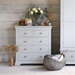 Amberley Grey Painted Double Wardrobe Bedroom Set 1047.016_o5taqo05