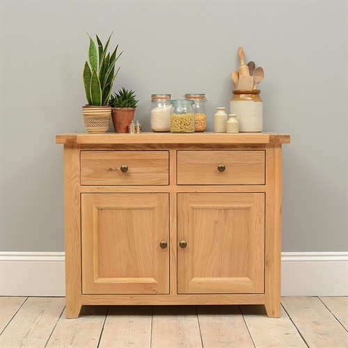 Edinburgh Oak Small Sideboard Including Free Delivery