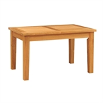 Edinburgh Oak 138-203cm Ext. Table with 6 Brown Chairs 1050.022_7238q741