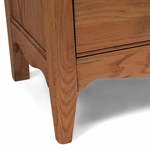 Bella Oak 5 Drawer Tall Chest 1051.004_d6u4ls3b