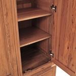 Bella Oak Triple Wardrobe Bedroom Set 1051.017_lvwkboai