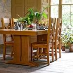 Harrogate Oak Refectory 200cm Dining Table  121.002_dvkd445w
