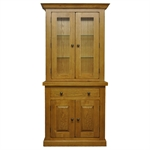 Harrogate Oak Glazed Dresser Top 121.006_ix4nodwn