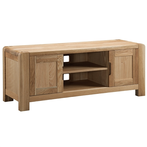 Chedworth Contemporary Oak TV Unit up to 57''