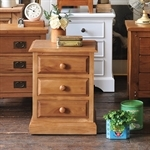 Cheshire Pine 3 Drawer Bedside Table 240.004.9
