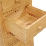 Oxbury Pine Slim Jim 5 Drawer Chest 241.007_r2ycn83n