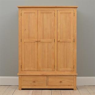 Oxbury Pine Triple Wardrobe