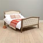 Brittany Limewash Oak Buttoned Double Bed 311.008_z5l0e9df