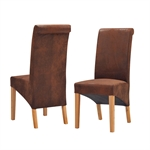 Light Oak 120-160cm Ext. Table and 4 Bison Rollback Chairs 340.074_fvwml2mu