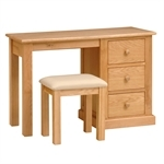 Dalton Oak Dressing Table Set 350.016.1