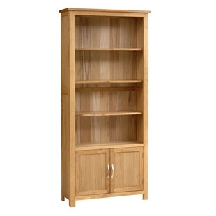 Blakeney Oak Open Display Unit