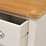 Hampstead Stone Grey Single Pedestal Dressing Table 390.006_g02cboaf