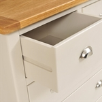 Hampstead Stone Grey 2 over 4 Drawer Chest 390.008_swjhqyhc