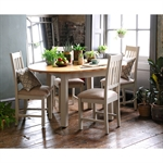 Hampstead Stone Grey 110-150cm Ext. Round Dining Table 390.048_lq8vfw1y