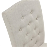 Hampstead Stone Grey Fabric Button Back Chair 390.055_pje2lxi9