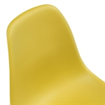 Set of 6 Retro Chairs - Mustard 391.006_yjsbx1dg