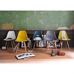 Set of 4 Retro Chairs - Charcoal Grey 391.007_3hnlc4mu