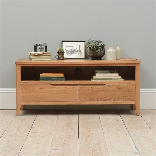 Odin Oak Large TV Stand - up to 53''