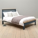 Hoxton Blue 4'6 Double Bed