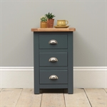 Hoxton Blue 3 Drawer Bedside 401.002_f1ffhl2x