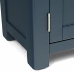 Hoxton Blue 2 Drawer Cupboard 401.015_zpa2l8jw