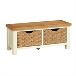 Pacific Painted Small Bench with Baskets 583.023_yne6yxtb