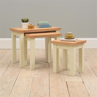 Pacific Painted Nest of Tables