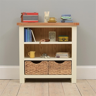 Pacific Painted Low Bookcase