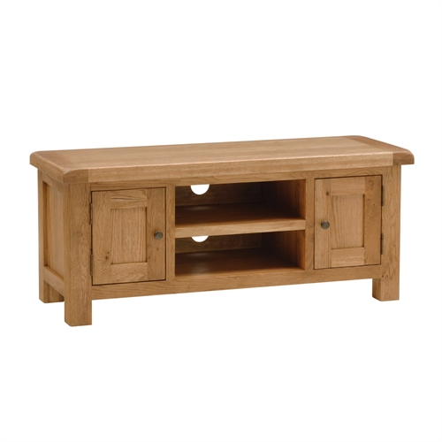 Salisbury Oak Large TV Stand - up to 53