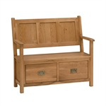 Salisbury Oak Monks Bench 596.044.3