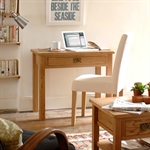 Salisbury Petite Oak Laptop Desk 596.086.5