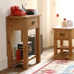 Salisbury Petite Oak Telephone Table 596.094.5