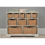 Middleton Painted 10 Drawer Chest - Ivory 603.001_4rogq4dw