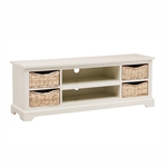 Middleton Painted Widescreen TV Unit up to 62 - Ivory 603.021.1