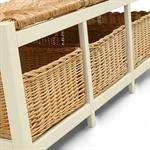 Middleton Painted Wicker Storage Seat and Shelf Set 603.031_jelqum97